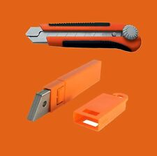 Snap-off Utility Knife Box cutter 25mm SK5 Blade / 10 pcs Blades for Drywall