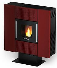 STUFA STUFE A PELLET FRE POINT BY CADEL SQUARE AVORIOBORDEAUX 6,7KW 170M2