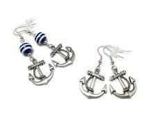 Anchor Earrings • Nautical • Sailor Jerry • Rockabilly • Pin Up