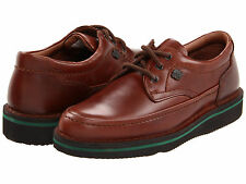 HUSH PUPPIES Mens Mall Walker Moc Toe Oxford Walking Shoes Brown Leather H18915