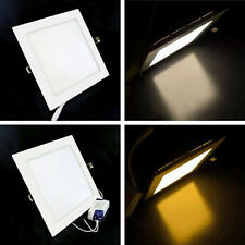 6W 12W 18W 24W Bright CREE LED Recessed Square Ceiling Panel Downlight Bulb Lamp