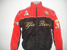 Alfa Romeo Racing Jacket Black Red Brand New Available in 4 Sizes
