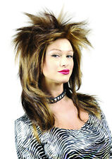 Punky Punk Rocker Tina Turner Wig Premium Quality Halloween Costume Fancy Dress