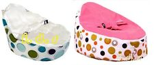 Lovely Nice baby kid toddler bean bag & Seat Cover parents care spots prints