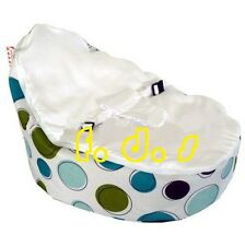 Lovely Nice baby kid toddler bean bag & Seat Cover parents care Blue spot colour