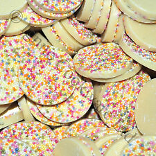 WHITE GIANT JAZZIES / SNOWIES CHOCOLATE CANDY, RETRO SWEETS 100g -3kg (7 for 6 )
