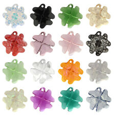 SWAROVSKI ELEMENTS 6764 Clover Pendant Many Colors & Sizes
