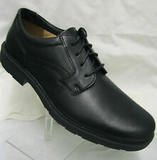 Mens Clarks Lair Code Black Leather Lace Up G Fitting