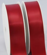 5 metres double sided quality satin ribbon, 10mm, 15mm, 25mm, 50mm width