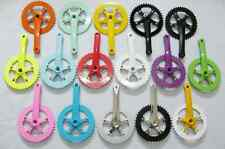 Colorful Fixed Gear Fixie Bike/Cycling Single Speed Track Crankset Cranks 44T
