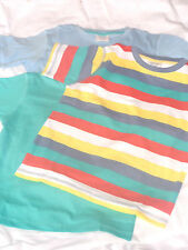lovely pack of three boys tshirts with different designs, very casual and smart