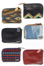 Icon Brand Loose Change Zipper Wallet Wallets Pu and Canvas Various Designes