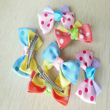 New Arrival Pet Hair Clips Dog Hair Bows Pet Dog Grooming Hair Clip Accessories