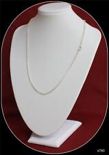 Sterling Silver Chain 18inch long 3.2mm wide Fancy Chain