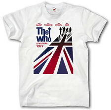 THE WHO CONCERT VINTAGE POSTER S-XXXL T SHIRT KEITH MOON WOODSTOCK  MUSIC 60 70