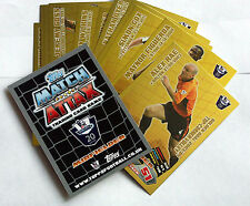 MATCH ATTAX  EXTRA 2011/12  PICK CHOOSE GOLDEN GOAL  CARDS  NEW  FREE UK POSTAGE