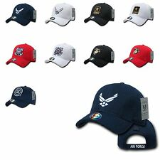 Military Army Air Force Navy Marines Coast Guard Mesh Baseball Hats Hat Cap Caps
