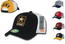 USA Military Air Force Army CG Marines Navy Flag Cotton Mesh Hats Caps Hat Cap
