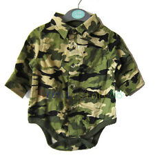 Baby Kid Boy infant Toddler Romper OnePiece Bodysuit Outfit outerwear Camouflage