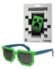 OFFICIAL LICENSED MINECRAFT STICKER AND PIXILATED SUNGLASSES 9&UP