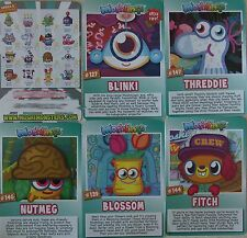 MOSHI MONSTERS MOSHLING SERIES 8  ROX CODE CARDS Pick/Choose Free UK Postage