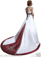 FairOnly Halter Wedding Dresses Bridal Gown Custom Made Plus Size 6 8 10 12 14++