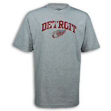 "Detroit Red Wings ""Irving"" Gray T-shirt"