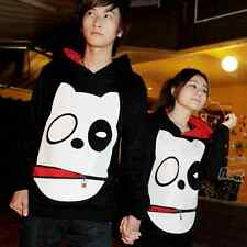 Korean version of the new large size lovers couple long-sleeved sweater