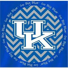 Kentucky Wildcats T-Shirts - Chevron Pattern UK Color Royal Blue - Go Big Blue