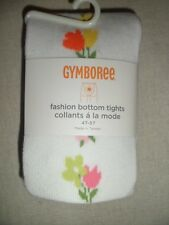 Gymboree TEA TIME AFTERNOON White Pink Flower Fashion Bottom Mouse Tights NWT
