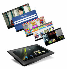 Google Android 4.0 Wifi Tablet PC 3D Capacitive Touch Screen Front & Rear Camera