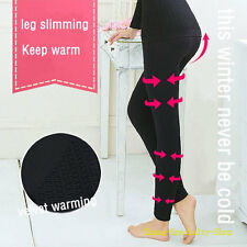 Thicken Fat-fighting High Waist Feeling Touch Thick Leg Slimming Leggings #048
