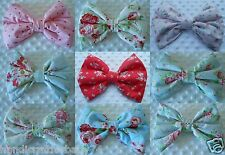 BOW ON SAFETY NAPPY PIN ACCESSORY FOR PRAM PUSHCHAIR CURTAINS
