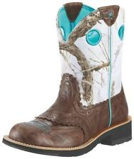 Ariat Women's Fatbaby Cowgirl  Western Western Boots Brown Crinkle 10009503