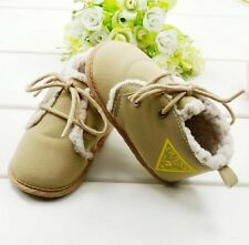 S065 Very Cute Simple warm bandage comfortable soft sole baby shoes for boys US
