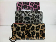 ELLA LEOPARD PRINT PATENT ZIP PURSE AVAILABLE IN THREE COLOURS 72550