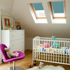 Nursery Blackout Skylight Blinds - Childrens room roof blinds - Amazing Colours
