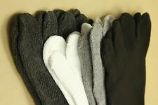Men's Cotton Five Fingers Toe Socks 5 fingers socks Stockings 4 colors 1 pair US