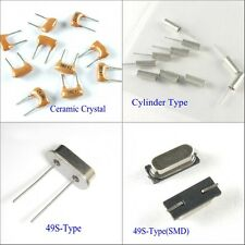 10pcs 49S Passive Crystal Ceramic Crystal Quartz Cylinder Type Crystal