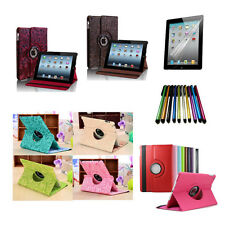 360 Rotating Folding Folio Leather Cover Case Stand for Apple iPad Air 1st+Gift