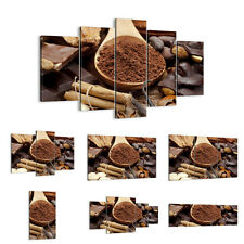 Canvas Picture 30 Shapes Print  drink gastronomy cacao chocolate 2492 UK