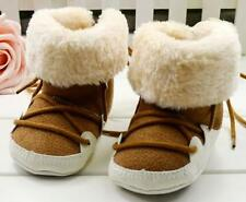 S074 Free shipping The new Brown very cool Winter Warm Brown color boy Baby boot