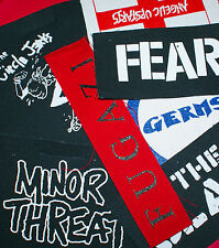 PUNK PATCHES #01 (BAND DESIGNS) - MANY TO CHOOSE FROM