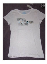 NWT American Eagle AE Commotion Tee Embroidered
