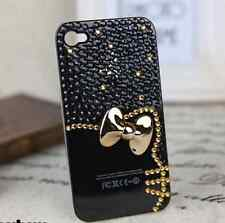HELLO KITTY BOW PEARL DIAMOND DIAMANTE LUXURY CASE COVER FOR VARIOUS MODELS