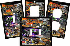 PERSONALIZED MONSTER TRUCK JAM GRAVE DIGGER MUTT LIGHT SWITCH PLATE COVER