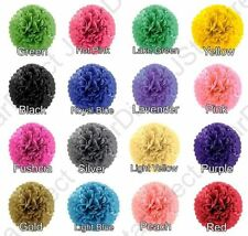 "Tissue Paper Pom Poms MIX 3-SIZE  8"" 10"" 15"" Wedding Party Home Decor USA"