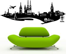 GERMANY SKYLINE wall art sticker berlin frankurt cities decal klein bremen vinyl
