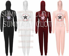 New Unisex Womens Ladies Converse Onesie Jumpsuit Hoody Top UK Size 8 10 12 14