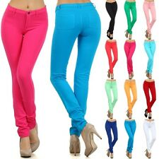 N21 BEAUTIFUL MOLETON COTTON PANTS STRETCH PENCIL JEANS Jeggings S M L XL F10292